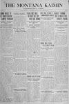 The Montana Kaimin, April 26, 1918