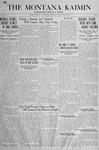 The Montana Kaimin, April 30, 1918
