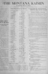 The Montana Kaimin, May 7, 1918