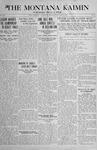 The Montana Kaimin, May 10, 1918