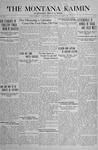 The Montana Kaimin, May 14, 1918