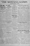 The Montana Kaimin, May 17, 1918