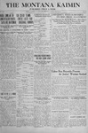 The Montana Kaimin, May 21, 1918