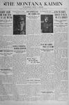 The Montana Kaimin, May 31, 1917