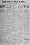 The Montana Kaimin, June 4, 1918