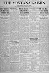 The Montana Kaimin, June 7, 1918