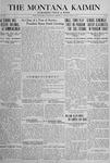 The Montana Kaimin, June 11, 1918