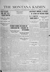 The Montana Kaimin, October 8, 1918