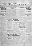 The Montana Kaimin, November 14, 1918