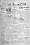 The Montana Kaimin, November 21, 1918