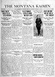 The Montana Kaimin, January 9, 1919