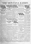 The Montana Kaimin, January 21, 1919