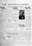 The Montana Kaimin, January 24, 1919