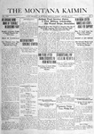 The Montana Kaimin, January 28, 1919