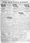The Montana Kaimin, January 31, 1919