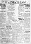 The Montana Kaimin, February 18, 1919