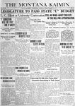 The Montana Kaimin, March 7, 1919