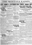 The Montana Kaimin, March 11, 1919