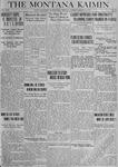 The Montana Kaimin, March 25, 1919