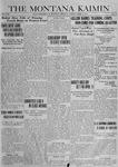 The Montana Kaimin, April 1, 1919