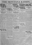 The Montana Kaimin, April 8, 1919