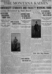 The Montana Kaimin, April 11, 1919