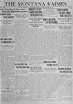 The Montana Kaimin, April 22, 1919