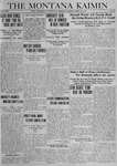The Montana Kaimin, April 29, 1919