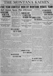 The Montana Kaimin, May 2, 1919