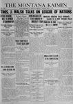 The Montana Kaimin, May 13, 1919