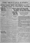 The Montana Kaimin, May 16, 1919
