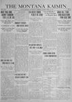 The Montana Kaimin, May 20, 1919