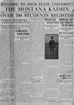 The Montana Kaimin, September 30, 1919