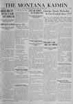 The Montana Kaimin, October 10, 1919