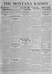 The Montana Kaimin, October 17, 1919