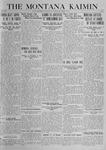 The Montana Kaimin, October 21, 1919