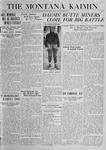 The Montana Kaimin, October 24, 1919