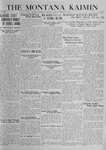The Montana Kaimin, November 4, 1919