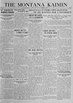The Montana Kaimin, November 7, 1919