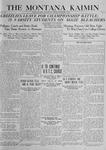 The Montana Kaimin, November 14, 1919
