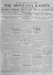 The Montana Kaimin, November 21, 1919