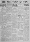 The Montana Kaimin, November 25, 1919