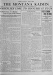 The Montana Kaimin, November 27, 1919