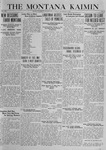The Montana Kaimin, December 9, 1919