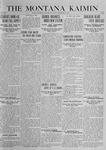 The Montana Kaimin, December 12, 1919