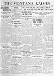 The Montana Kaimin, January 6, 1920