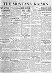 The Montana Kaimin, January 13, 1920