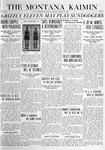 The Montana Kaimin, January 16, 1920
