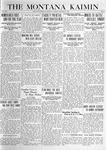 The Montana Kaimin, January 30, 1920