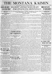 The Montana Kaimin, February 3, 1920